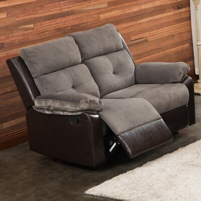 Living In Style Sherry Reclining Loveseat