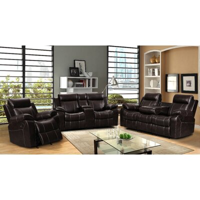 Living In Style Gabrielle 3 Piece Living Room Re..