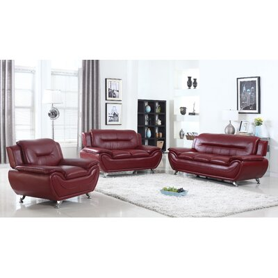 Living In Style Sophie 3 Pieces Sofa Set