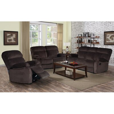 Living In Style Alvia 3 Piece Living Room Set