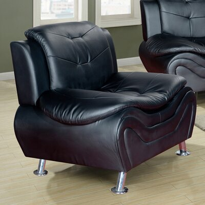 Living In Style Fiorina Faux Leather Armchair