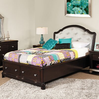 Samuel Lawrence Girls' Glam Panel Bed with ..