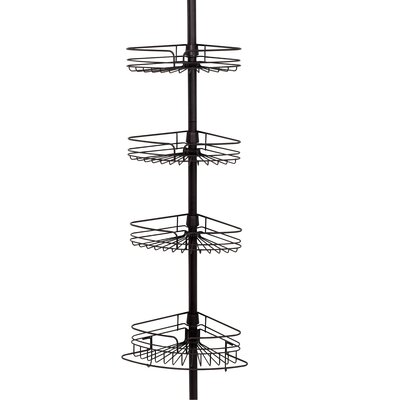 Tension Pole Corner Shower Caddy