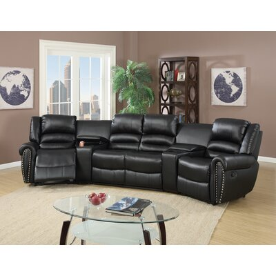 Infini Furnishings Home Theater Sectional