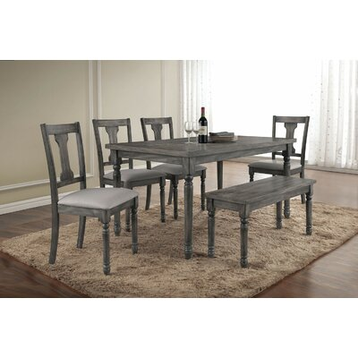Infini Furnishings 7 Piece Dining Set