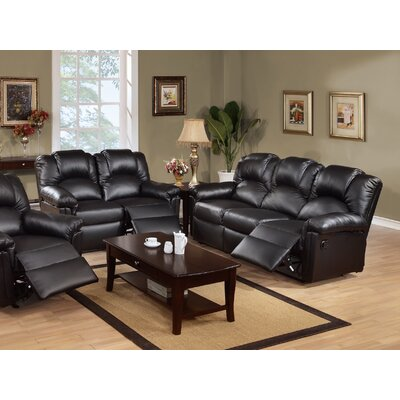 Infini Furnishings Jacob Reclining Sofa and Loveseat Set