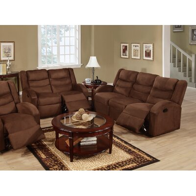 Infini Furnishings Mason Reclining Sofa and Loveseat Set