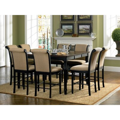 Infini Furnishings 9 Piece Counter Height Dining Set