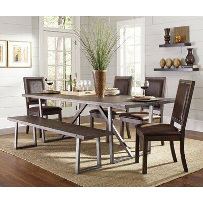 Infini Furnishings Cocoa 6 Piece Dinin..