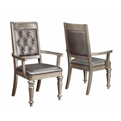 Infini Furnishings Victoria Arm Chair (Set of 2)