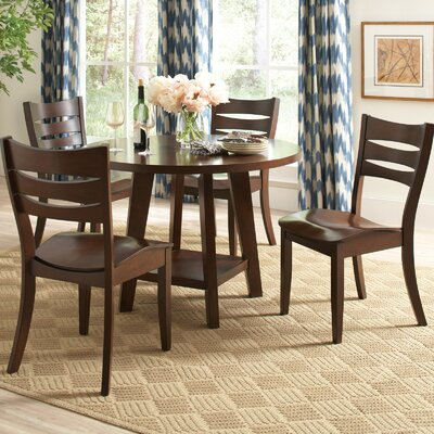 Infini Furnishings Brian 5 Piece Dining Set