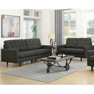 Infini Furnishings Rochester Sofa and Loveseat Set