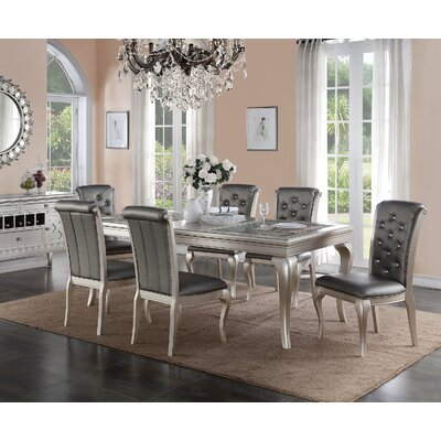 Infini Furnishings Adele 7 Piece Dining Set