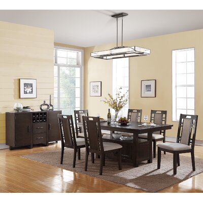Infini Furnishings Amable 7 Piece Dining Set