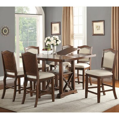 Infini Furnishings Amelie 7 Piece Coun..