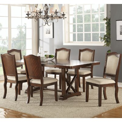 Infini Furnishings Amelie 7 Piece Dining Set