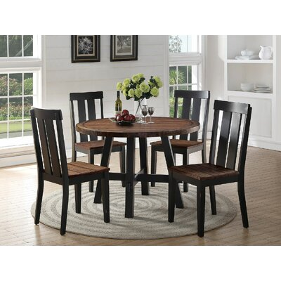 Infini Furnishings Dianne 5 Piece Dining ..