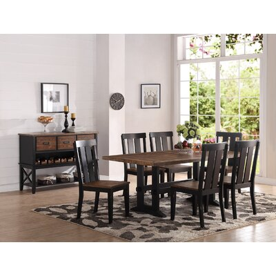 Infini Furnishings Dianne 7 Piece Dining Set