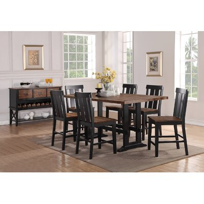Infini Furnishings Dianne 7 Piece Counter Height Dining Set