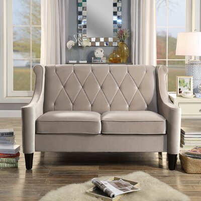 iNSTANT HOME Ariel Wingback Loveseat
