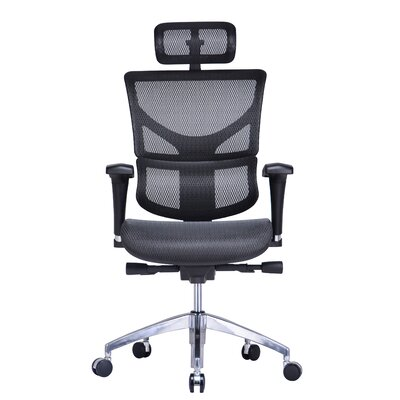 Conklin Office Furniture Vito High-Back Mesh Task Chair with Headrest