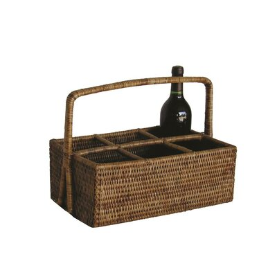 artifacts trading 6 Bottle Tabletop Wine Rack