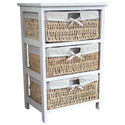 Wildon Home Maize 3 Drawer Cabinet Reviews Wayfair Uk