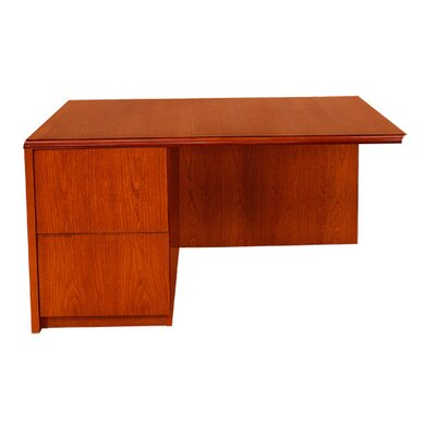 Carmel Furniture Waterfall Series Desk Shell