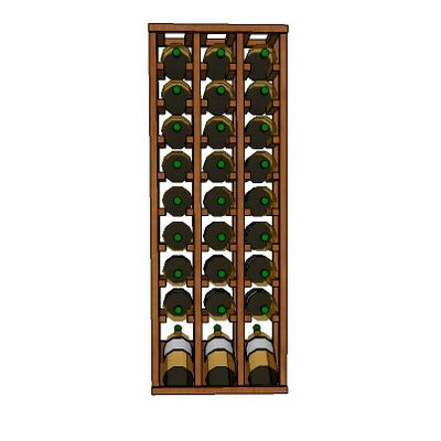 Wineracks.com Premium Cellar Series 30 Bottle Floor Wine Rack