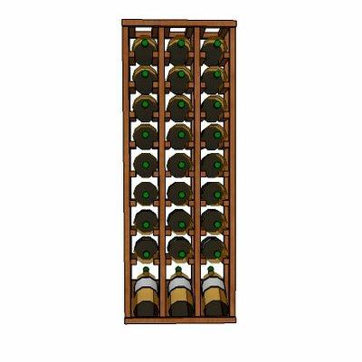 Wineracks.com Premium Cellar Series 30 Bottle Floor Wine Rack