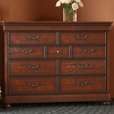 Canora Grey Davison 9 Drawer Dressing Chest