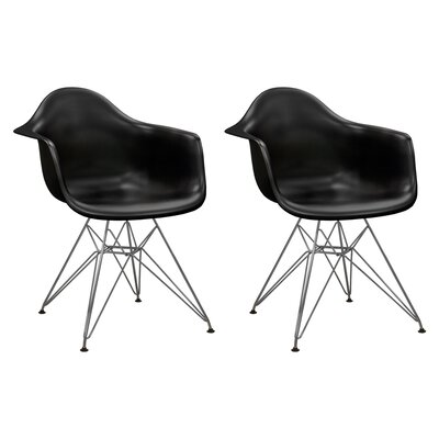 Mod Made Paris Tower Arm Chair (Set of 2)