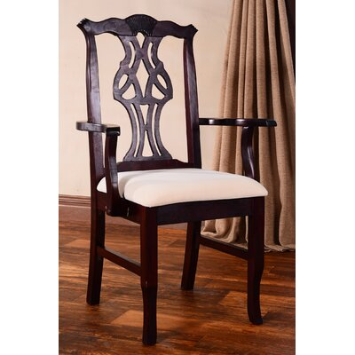 Benkel Seating Chippendale Arm Chair