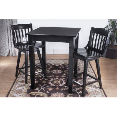 Benkel Seating 3 Piece Pub Table Set