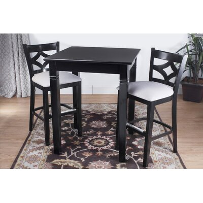 Benkel Seating Rego 3 Piece Pub Table Set
