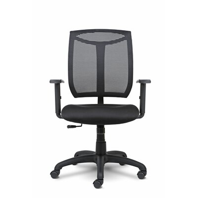 Made In America Seating Bria Mid-Back Mesh Desk Chair with Arms