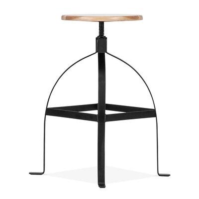 Design Lab MN Adjustable Height Swivel Bar Stool