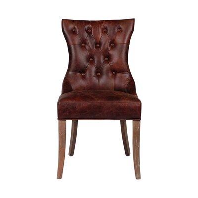 Joseph Allen Mustang Tufted Arm Chair
