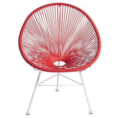 Joseph Allen Acapulco Woven Basket Lounge Chair