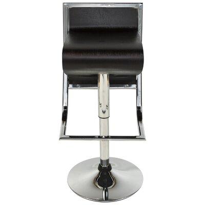 LeisureMod Napoli Adjustable Height Swivel Bar S..