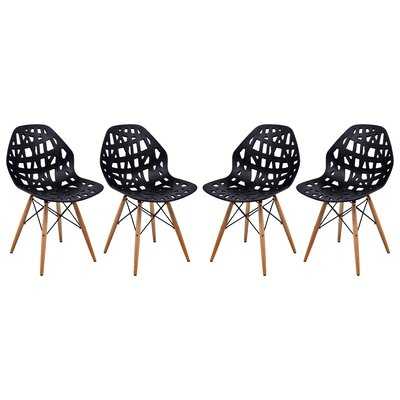 LeisureMod Akron Side Chair (Set of 4)