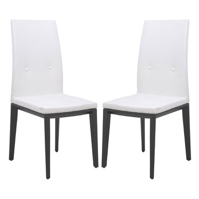 LeisureMod Somers Side Chair (Set of 2)