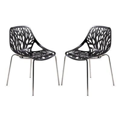 LeisureMod Asbury Side Chair (Set of 2)