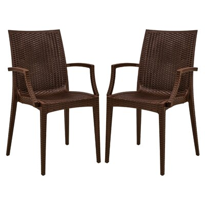 LeisureMod Mace Arm Chair (Set of 2)