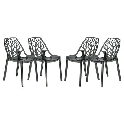 LeisureMod Cornelia Side Chair (Set of 4)
