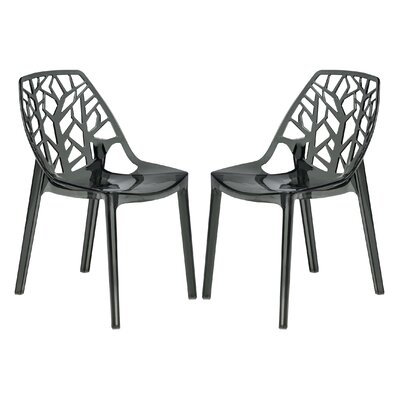 LeisureMod Cornelia Side Chair (Set of 2)