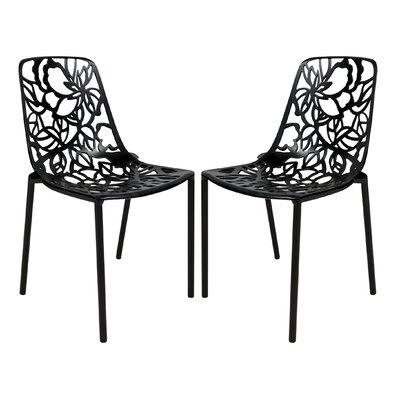 LeisureMod Devon Side Chair (Set of 2)