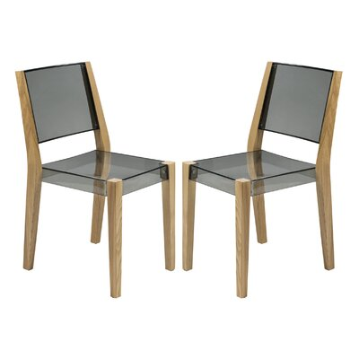 LeisureMod Barker Side Chair (Set of 2)