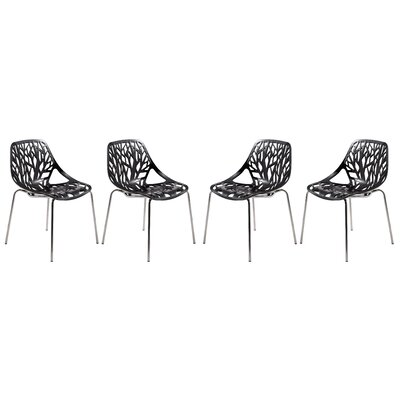 LeisureMod Asbury Side Chair (Set of 4)