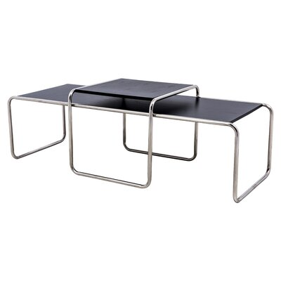 LeisureMod Malvern 2 Piece Nesting Tables